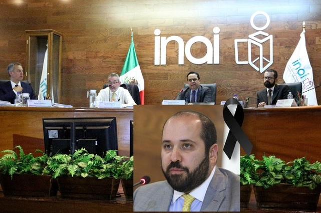 El INAI afirma que no ocultó información sobre la muerte del comisionado