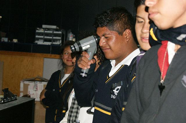 Prepara INAOE área de observación astronómica para visitantes