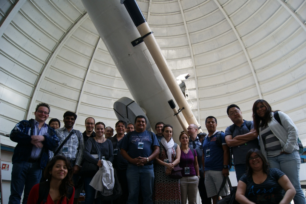 Participa  INAOE en campaña de observación internacional  de asteroides