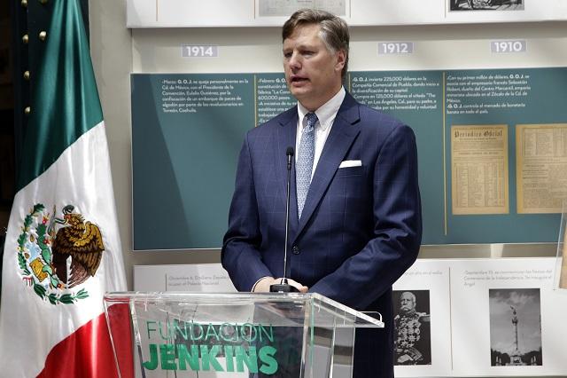 Dice embajador de EU que no habló de no invertir en México