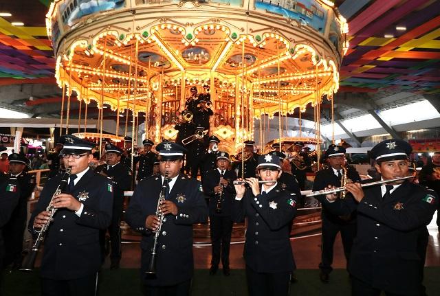 Acapara seguridad la mitad de los gastos en la Feria de Puebla