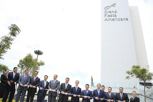 Puebla pasó de 503 a 745 hoteles en seis años, asegura RMV