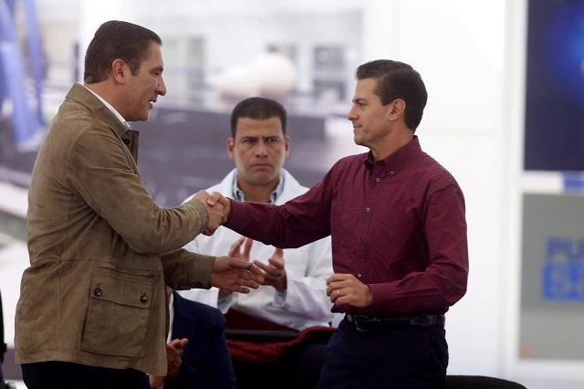 En tono de despedida, Peña Nieto agradece colaboración de RMV