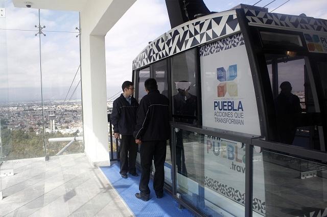 Capacitó BUAP a guías de turistas del Teleférico de los Fuertes