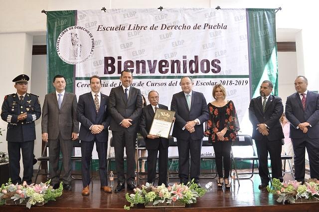 Inicio de cursos 2018 – 2019 en la Escuela Libre de Derecho de Puebla