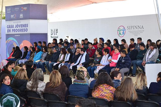 Inauguran Casa Jóvenes en Progreso de Tlatlauquitepec