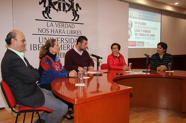 Inaugura rector de la Ibero coloquio y foro sobre investigación educativa