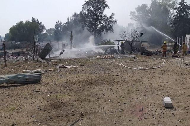Un muerto y 4 heridos dejan 4 explosiones otra vez en Tultepec