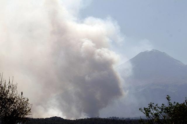 Puebla, noveno lugar nacional en incendios forestales, en 2015: Conafor