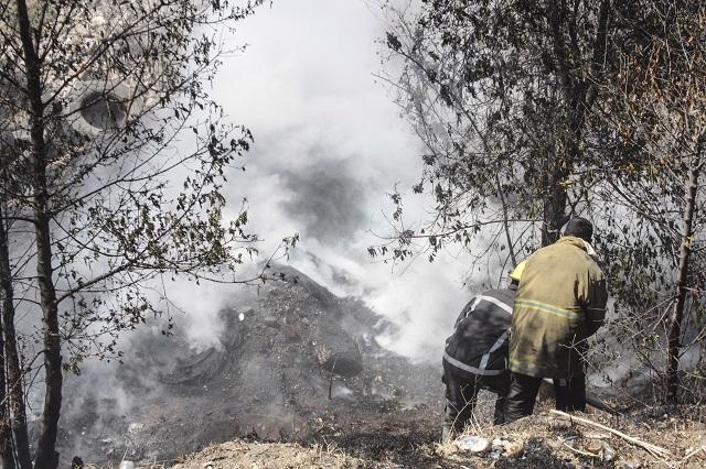 Incendios en La Malinche llenan de humo la ciudad de Puebla
