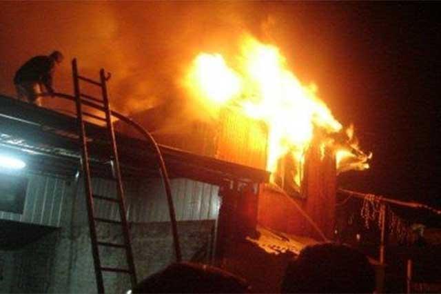 Incendio de una casa en Guadalajara deja un saldo de 9 muertos