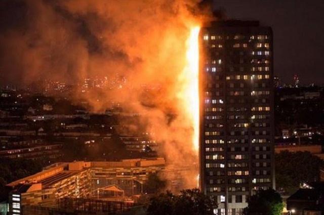 Precisan que han muerto 58 personas por incendio en torre de Londres