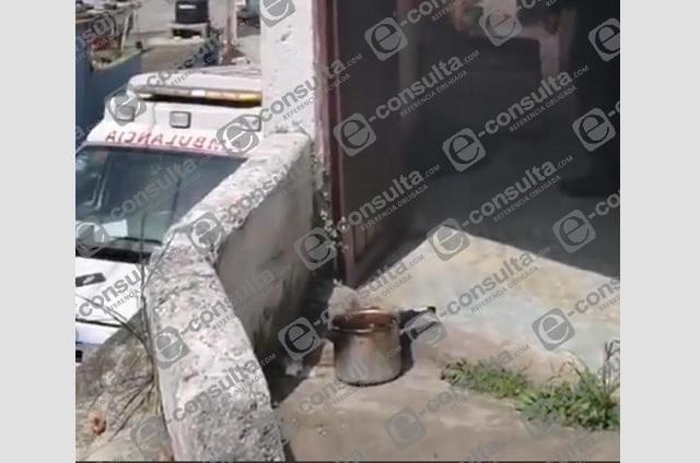 Registran conato de incendio por dejar olla en la estufa en Teziutlán