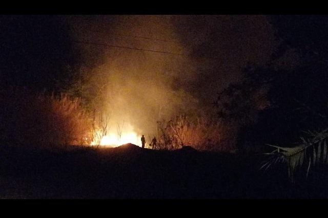 Alarma incendio a personal de Hospital General de Acatlán