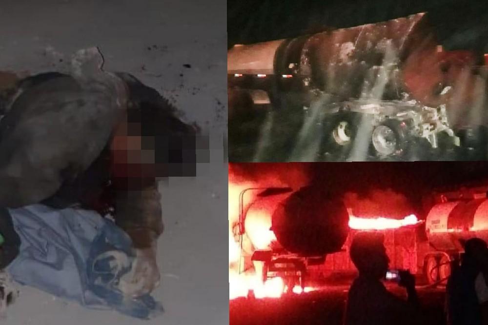 Se quema empleado durante incendio en asfaltadora en Chachapa