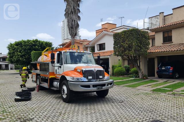 Se incendia habitación en residencia de Las Ánimas