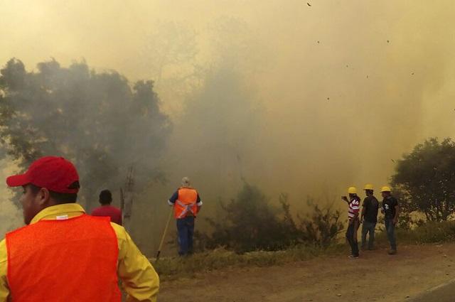Vences Valencia pide acciones para combatir incendio en El Seco