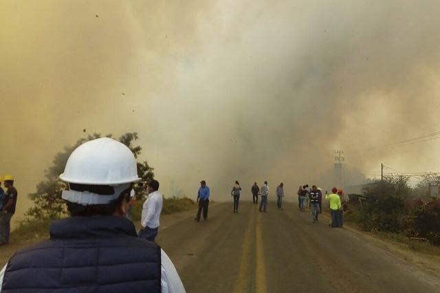 Es Puebla segundo lugar en incendios forestales en 2020