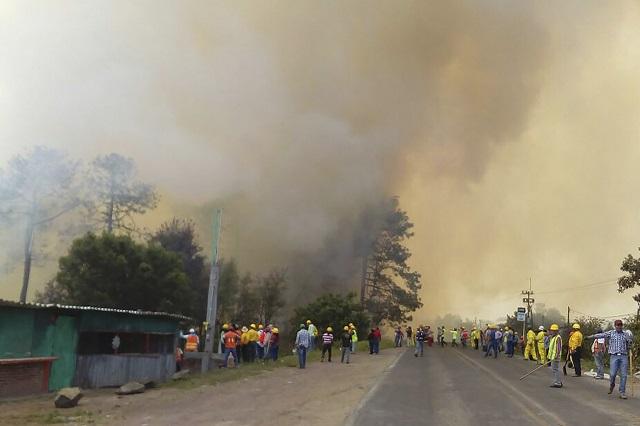Cierra Puebla marzo como segundo con más bosque incendiado