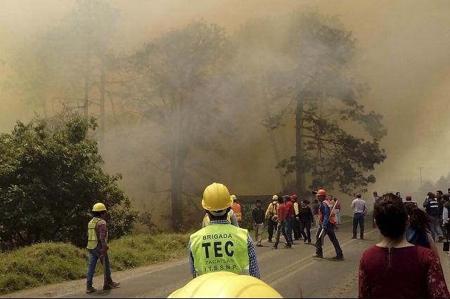 Pueblos deben involucrarse en el combate a incendios, señalan