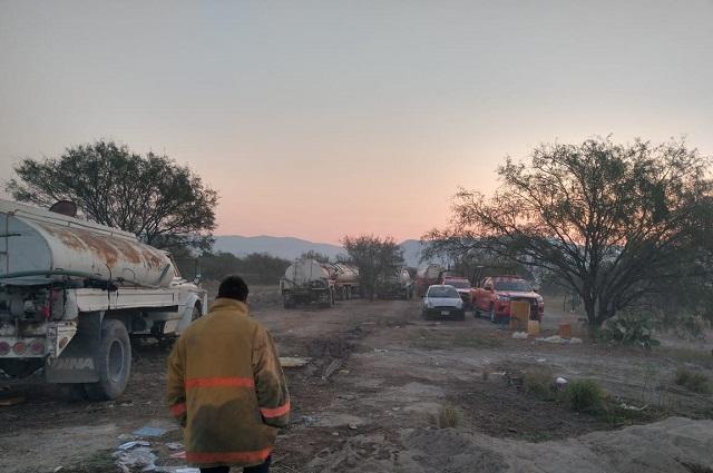 Incendio deja al descubierto carencias de PC y Bomberos de Tehuacán