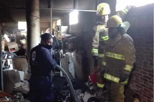 Incendios movilizan a bomberos de San Pedro Cholula