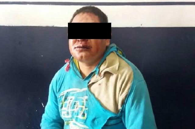 Pobladores de Metepec amagan con linchar a un asaltante