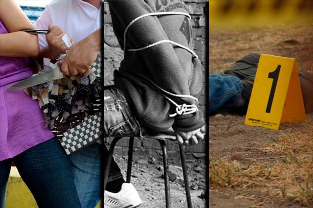 Crecen secuestros, homicidios y robos con los vecinos de Puebla