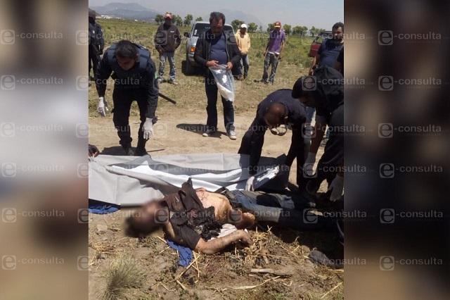Pobladores incineran a presunto ladrón de motocicletas en Libres