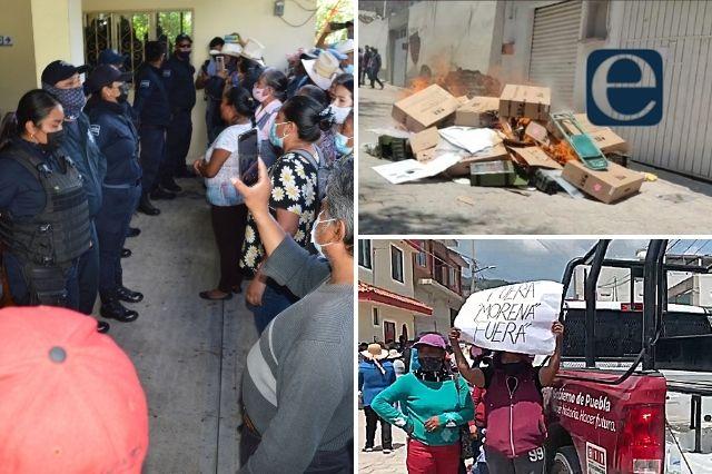 Estalla violencia electoral en municipios de Puebla