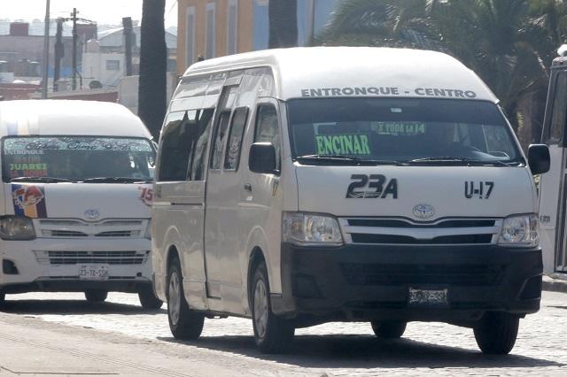 Transporte público de Puebla no muestra mejoría en sus unidades