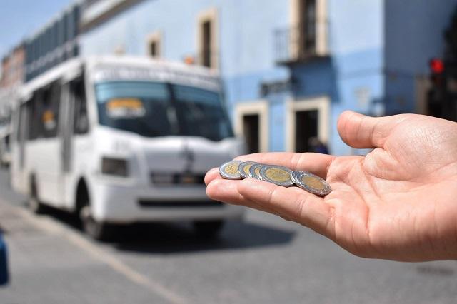Piden transportistas de Puebla eliminar tarifa de estudiantes