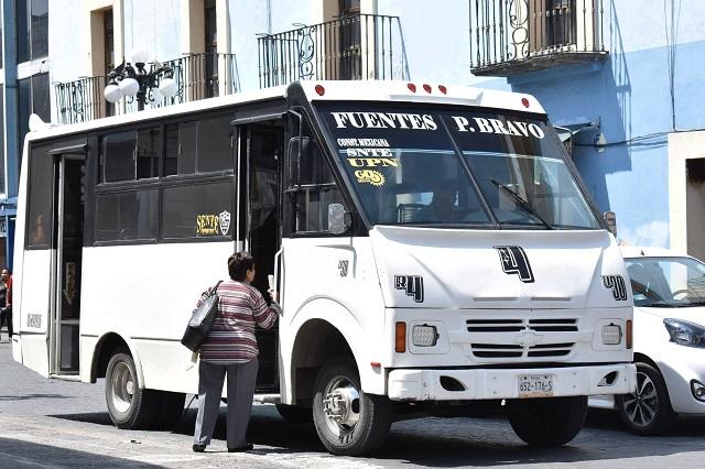 Falla transparencia en concesiones del transporte público: Igavim
