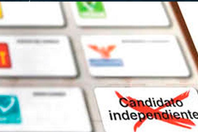 Buscan 38 candidaturas independientes en Puebla