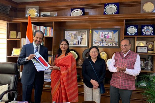 BUAP y universidades de la India acuerdan agenda de colaboración