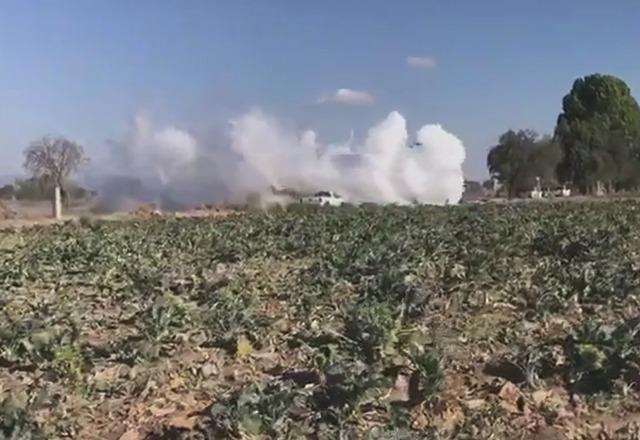 Por fuga de gas cierran la autopista Puebla-Orizaba