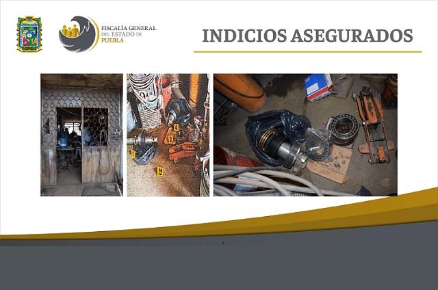En cateó, FGE recupera piezas de la Estrella de Puebla