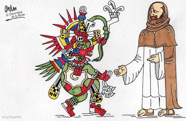 2 siglos de resistencia indígena pacífica ante la cristianización