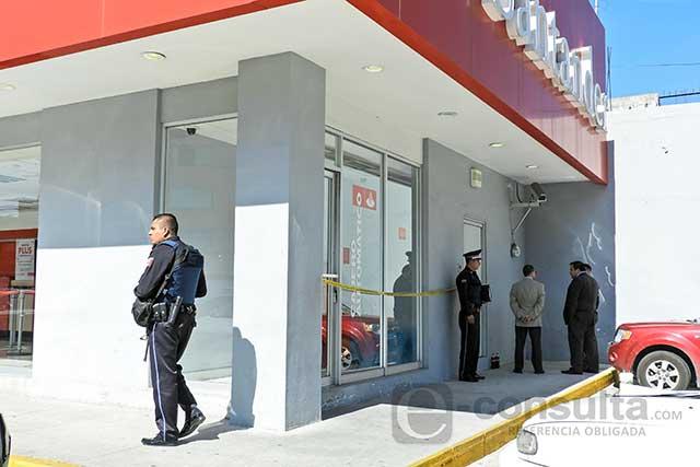 Fallece indigente en cajeros de Santander en el Bulevar 5 de Mayo