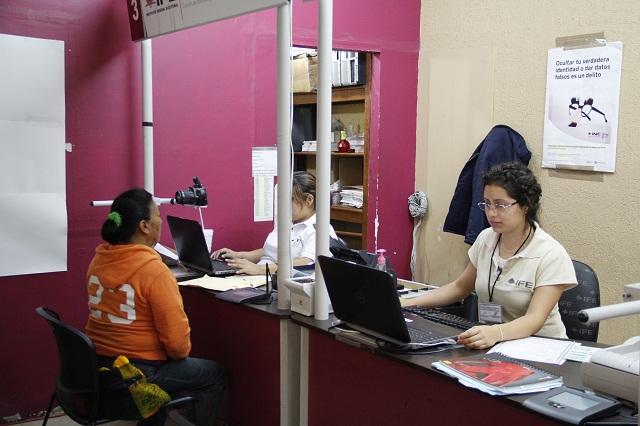 Hay 24 mil credenciales de elector sin recoger: INE