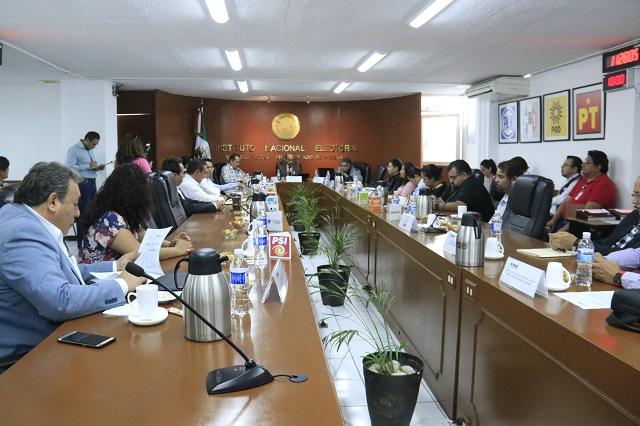 Inconformidades de supervisores fueron resueltas señala INE Puebla