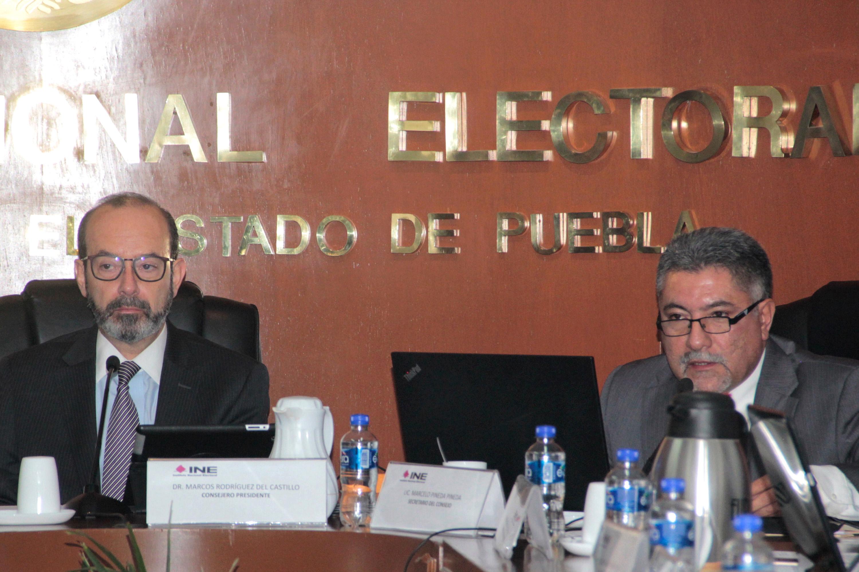 INE aplicará la ley por uso de empresas fantasmas en Puebla