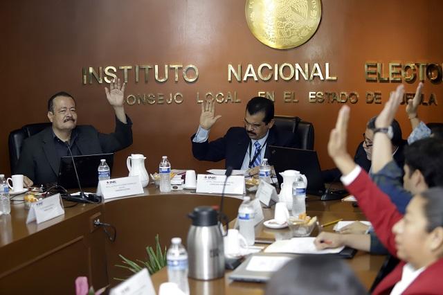 Pide INE al Ejercito custodiar paquetería electoral en Puebla
