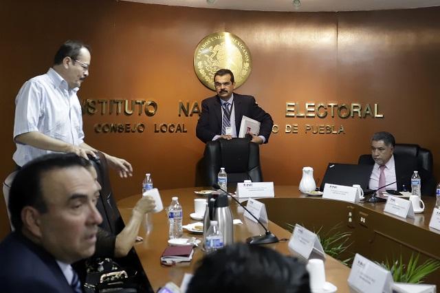 Partidos se piratearon a 46 funcionarios de casilla, acredita INE
