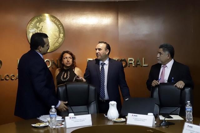 PAN acusa en INE uso de recursos públicos para Barbosa