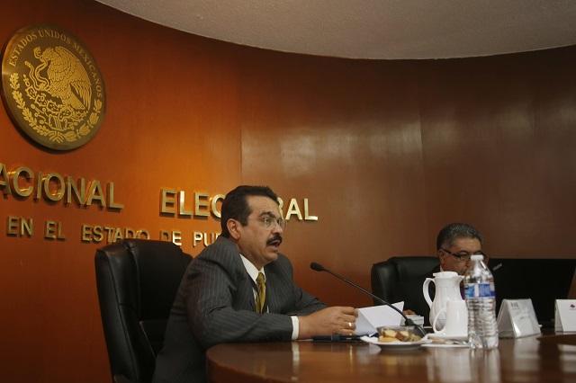 Habrá vigilancia de los partidos en todas las casillas de Puebla