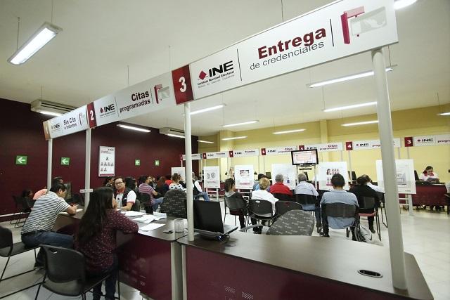 Puebla es 5to con más credenciales vencidas sin renovar: INE