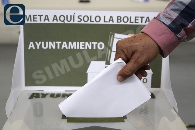 Papelería incompleta en casillas y violencia, al iniciar elección en Puebla