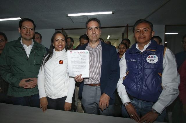 Arman Morena-PT-PVEM coalición por la gubernatura de Puebla