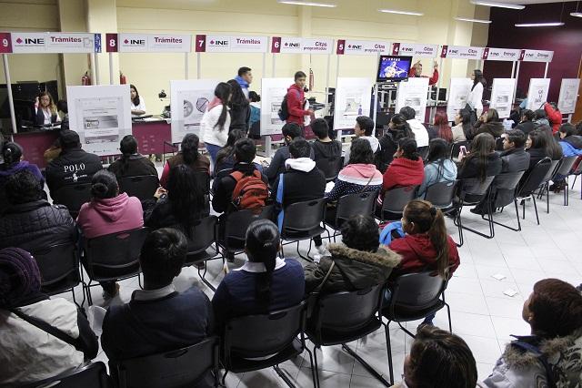 No fueron recogidas 10, 520 credenciales de elector: INE